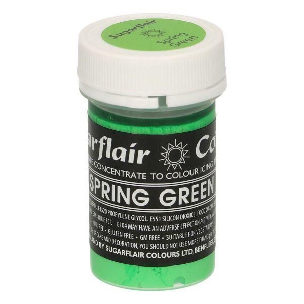Sugarflair Pastenfarbe Pastel - Spring Green