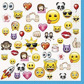 Emoji Servietten
