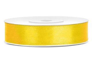 Satinband Gelb