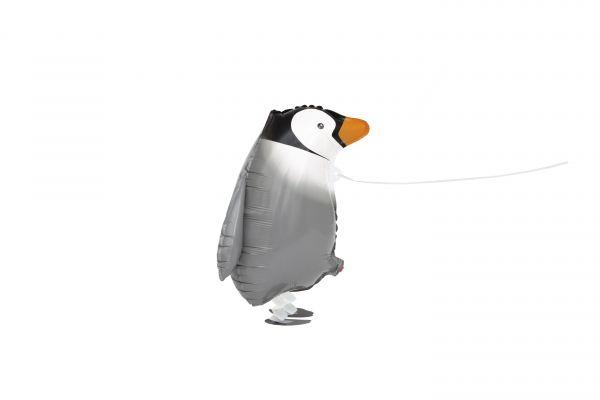 Walking Pet Pinguin Folienballon
