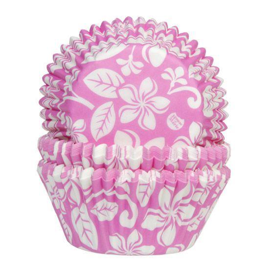 HOM Muffin Förmchen Aloha Flower Pink