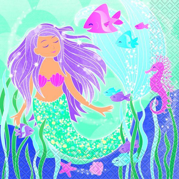 Mermaid Servietten