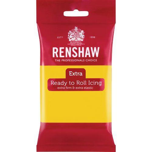 Renshaw Rollfondant Extra Yellow 250 g
