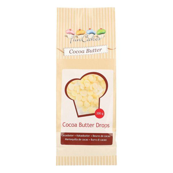 Kakao Butter Drops 200 g