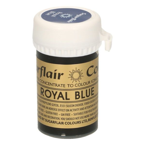 Sugarflair Pastenfarbe - Royal Blue