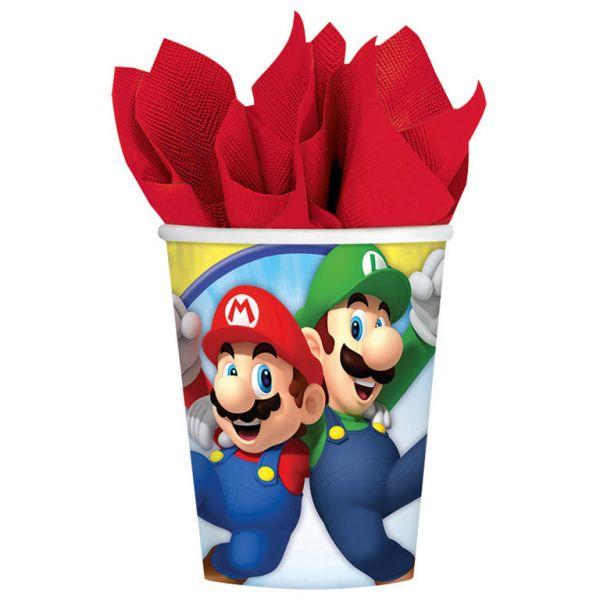 Super Mario 8 Becher