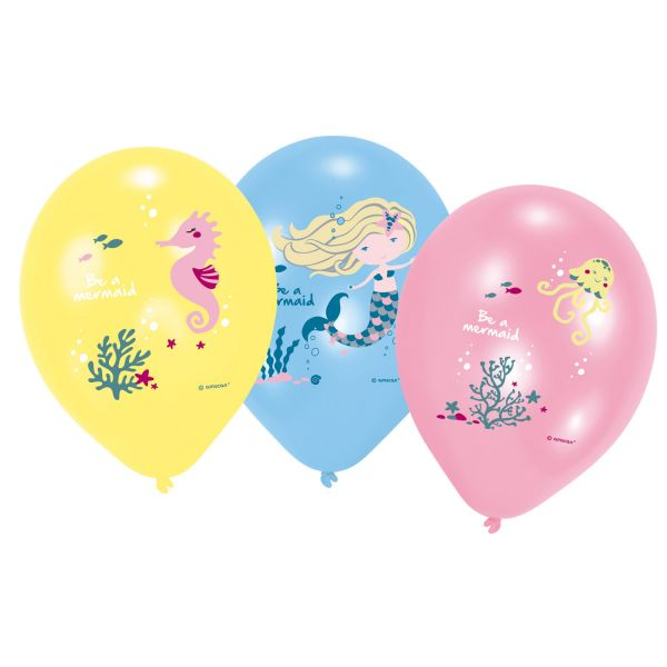Ballon Mermaid/6