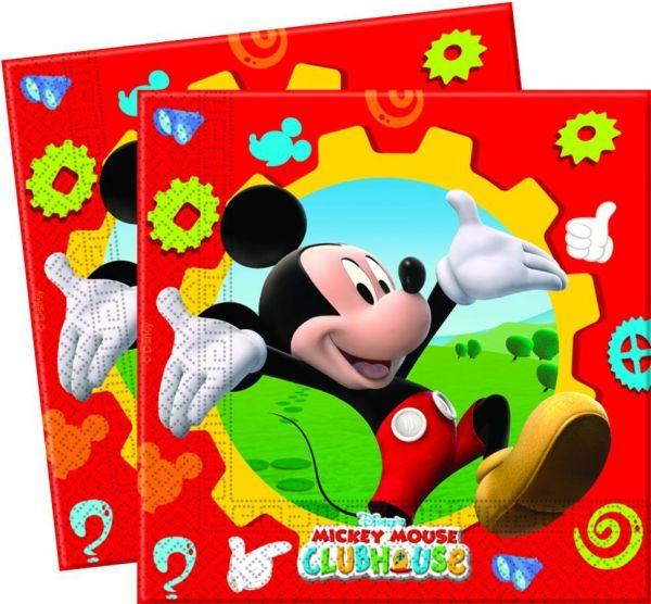 Mickey Mouse Club House, Servietten