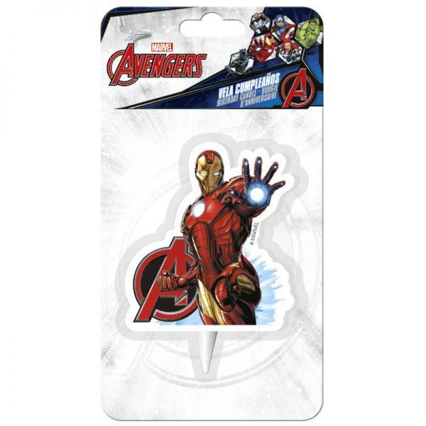 Iron Man Kerze