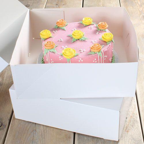 Tortenkarton 32 X 32 X 11.5 cm/2 Stk