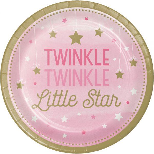 Twinkle - Girl Pappteller 23 Cm/8