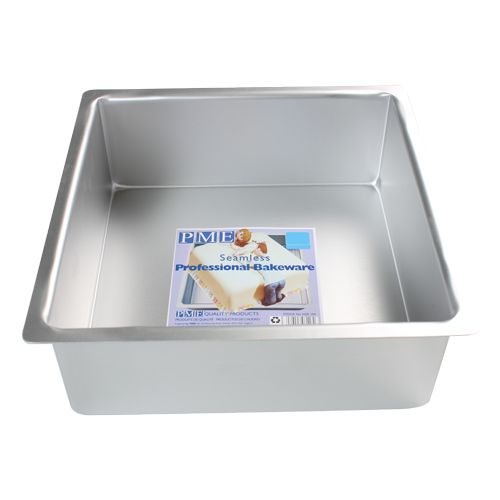 PME Extra tiefe Backform Quadratisch 30X30x10cm