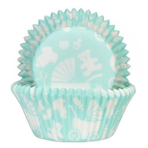 HOM Muffin Förmchen Baby Mint