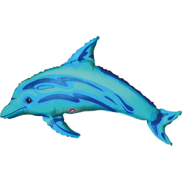 Delfin Mini-Folienballon