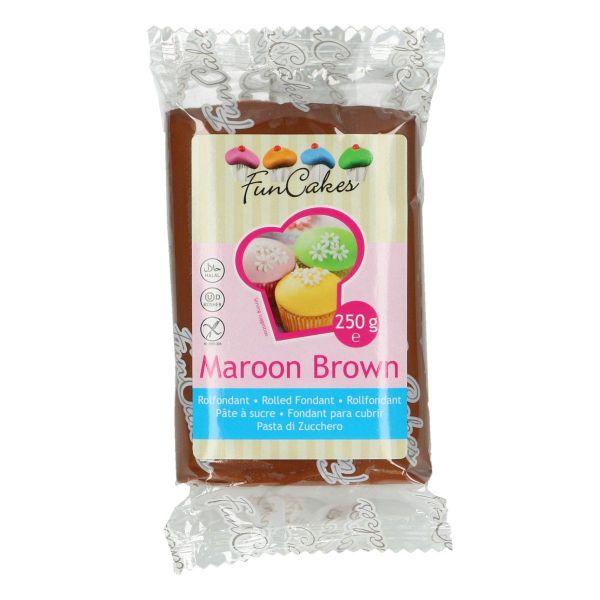 Rollfondant Maroon Brown 250 g