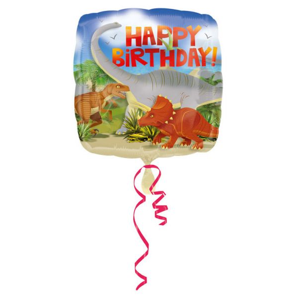 Dinosaurier Birthday Folienballon 43 cm