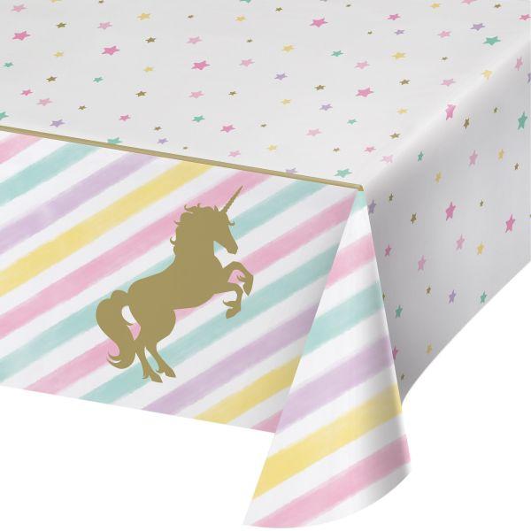 Unicorn Sparkle Foil Tischdecke