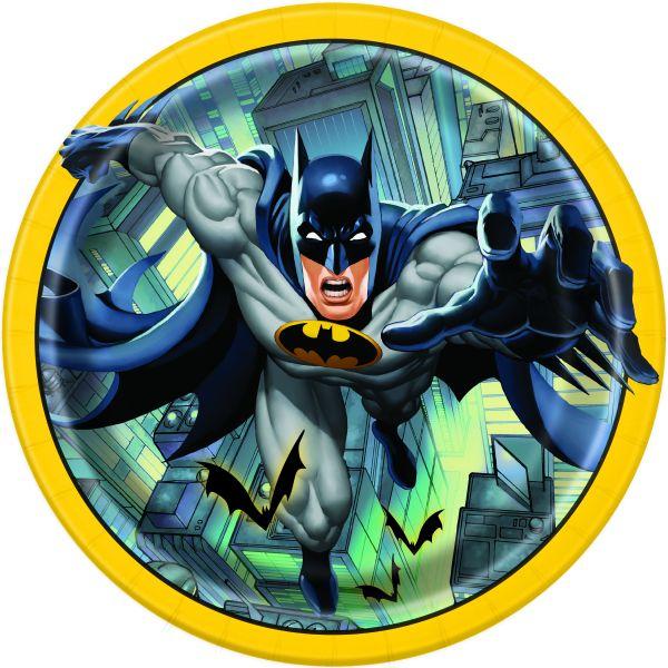Batman 8 Pappteller 23 cm