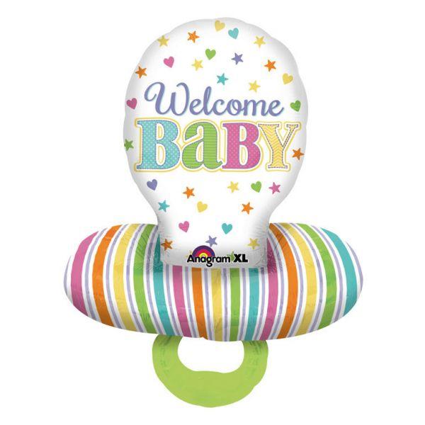 Baby Schnuller Folienballon 56 X 73 cm