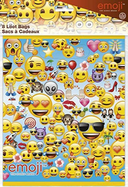Emoji Partysäckchen