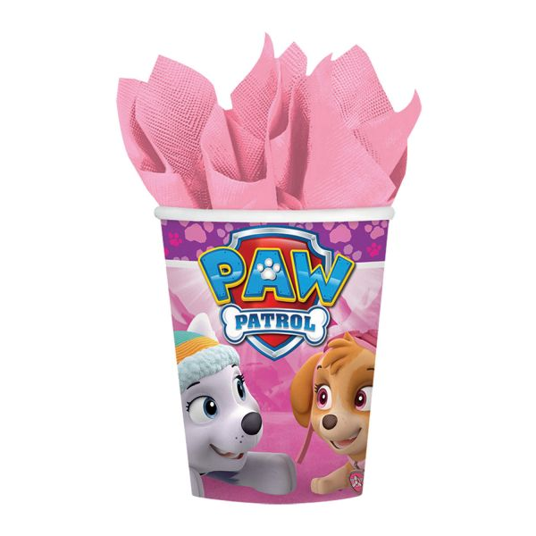 Paw Patrol Pink Becher 250 ml/8