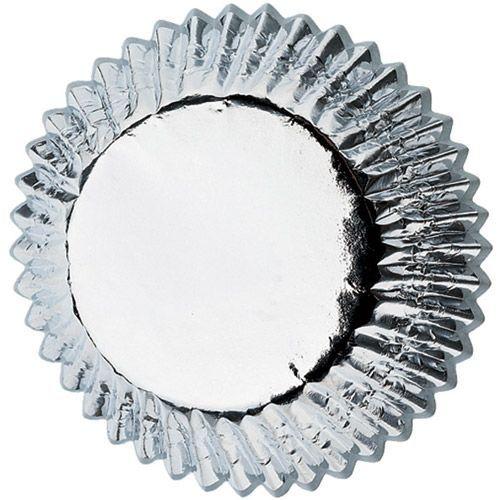 Wilton Mini-Muffin Förmchen Silber