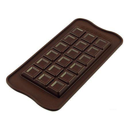 Schokoladenform Tablette