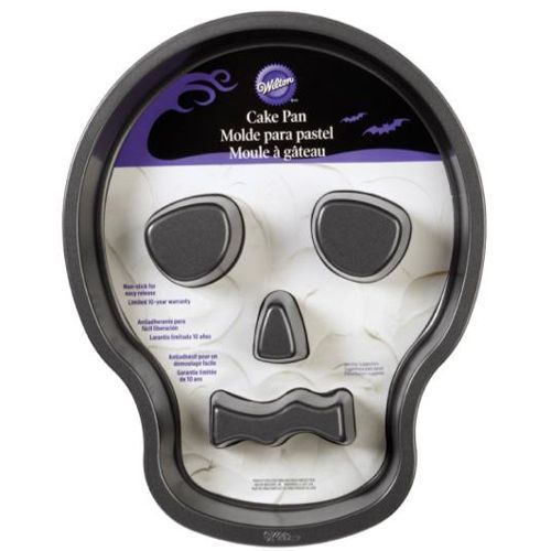 Wilton Backform Totenkopf Skull Tube