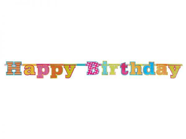 Banner Happy Birthday 16 X 166 cm