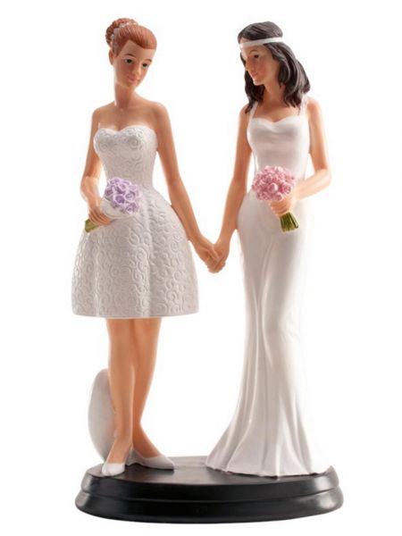 Brautpaar Frauen 20 cm