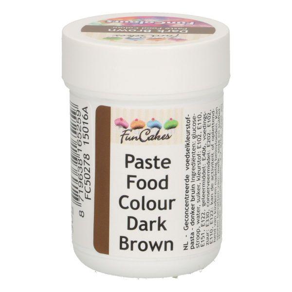 FC Pastenfarbe dark brown