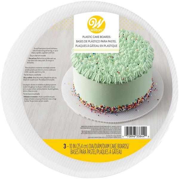 Cake Board White 25 cm