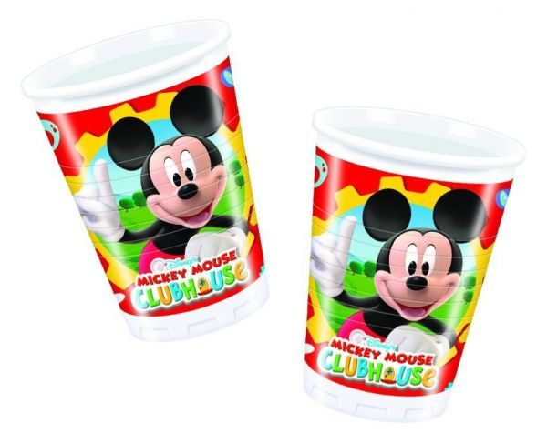 Mickey Mouse Club House, 8 Becher