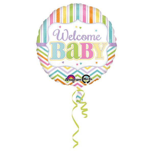 Baby Brights Folienballon 43 cm