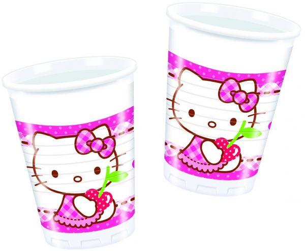 Hello Kitty Hearts Plastikbecher