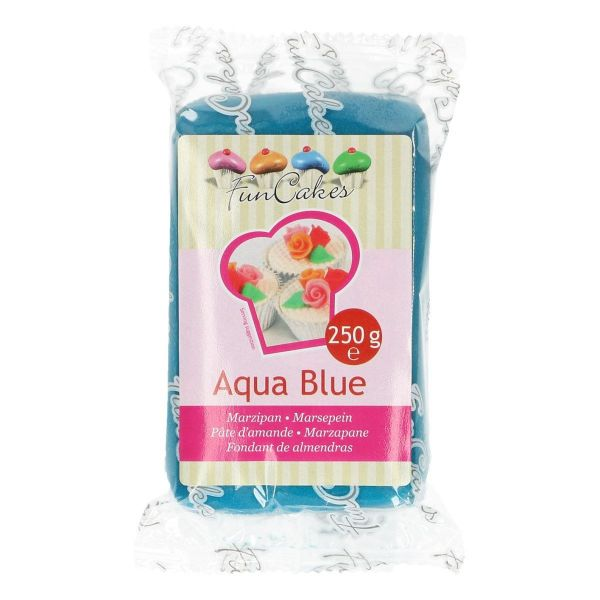 Marzipan Aqua Blue 250 g