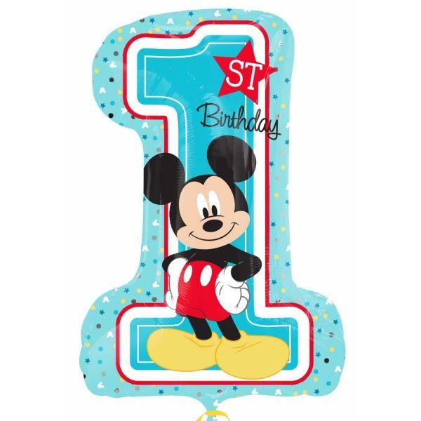 Mickey 1St Birthday Folienballon 48 X 71 cm