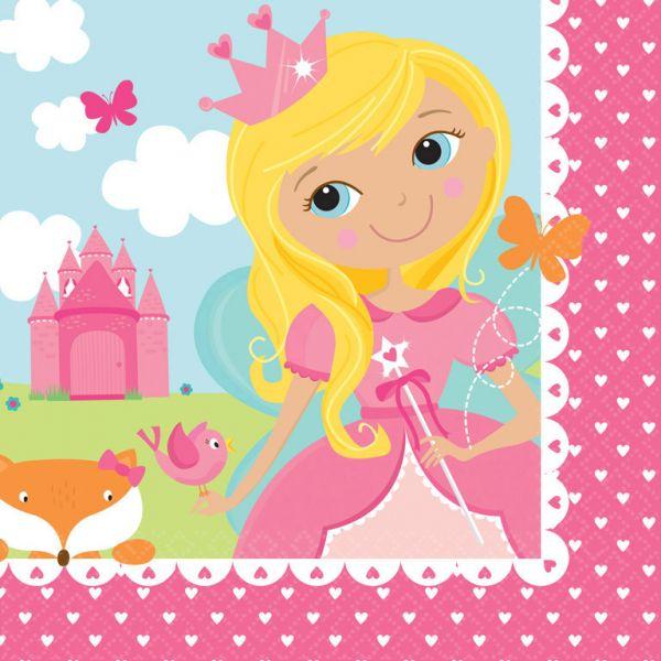 Woodland Princess Servietten