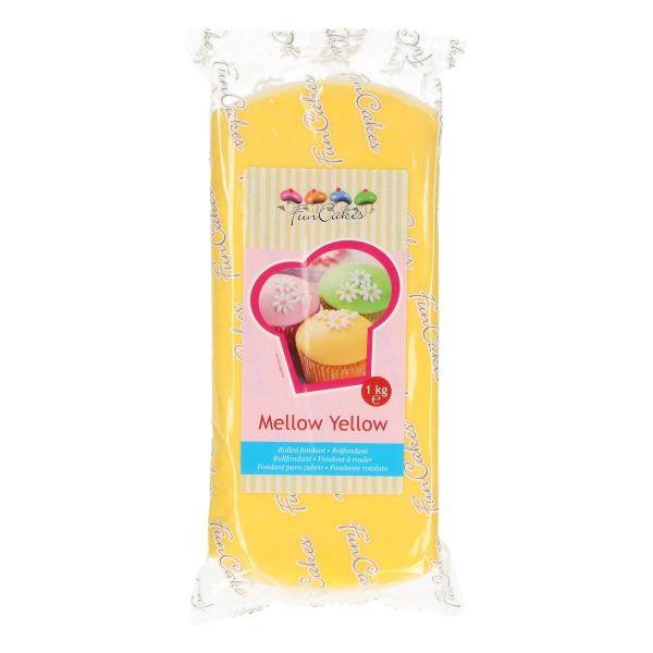 Rollfondant Mellow Yellow 1 Kg