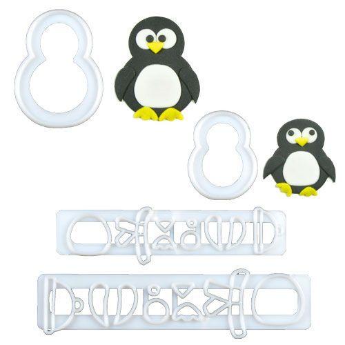 FMM Ausstecher Pinguin