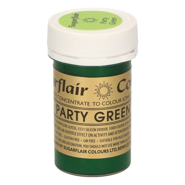 Sugarflair Pastenfarbe - Party Green