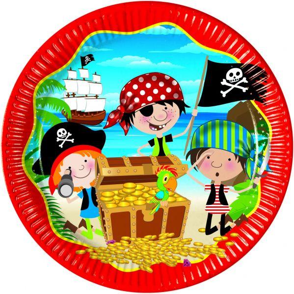 Little Pirates, 8 Teller