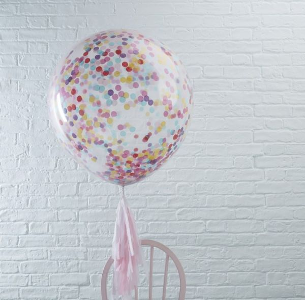 Huge Confetti Balloons Pick And Mix