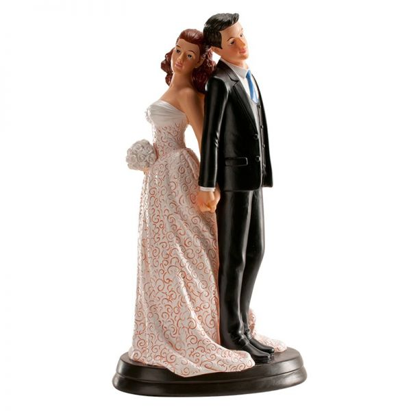 Brautpaar Rücken 20 cm
