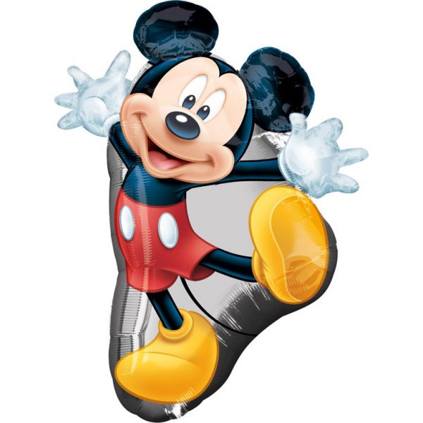 Mickey Full Body Folienballon 55 x 78 cm