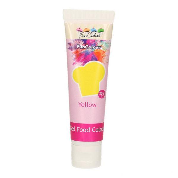 Funcolours Gel Yellow 30 g
