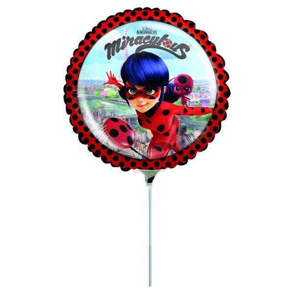Miraculous Mini-Folienballon