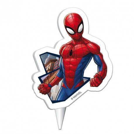 Spiderman Kerze
