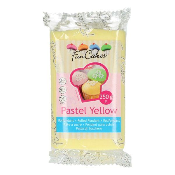 Rollfondant Pastel Yellow 250 g