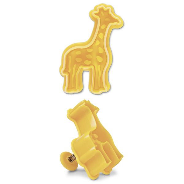 Ausstechform mit Auswerfer Giraffe